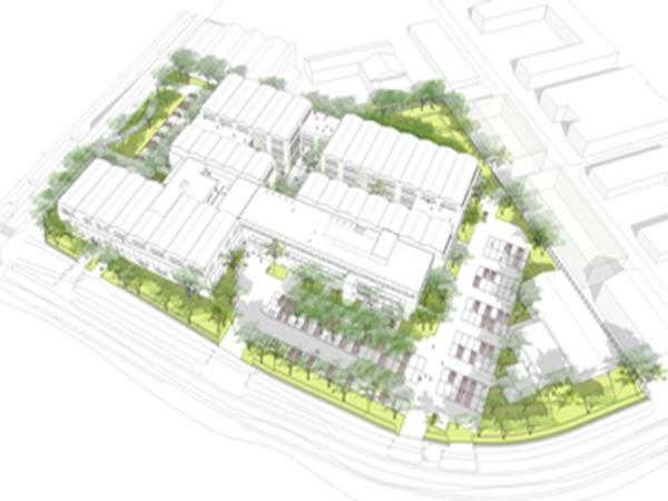 Bureaux à partir de 200 m² dans la Cité numérique
