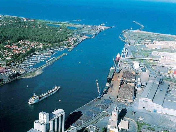 17 ha sur la plateforme logistique de port de Bayonne
