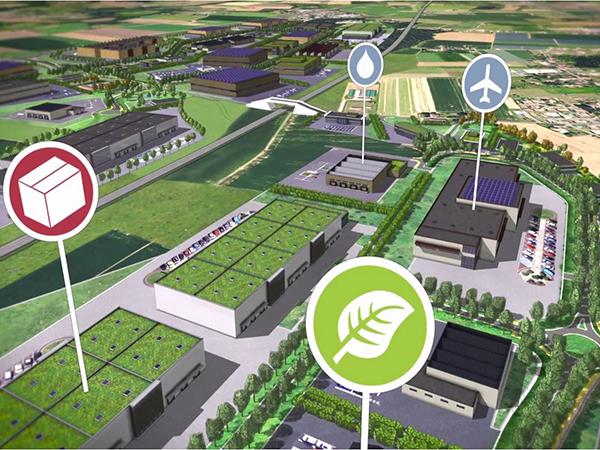 Terrains pour les entreprises en économie numérique et verte sur le Technopôle Agen-Garonne