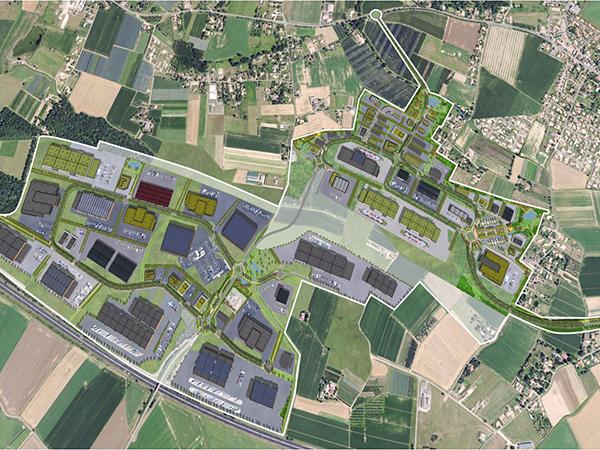Terrain dédiés à l'industrie et l'agroalimentaire sur le Technopôle Agen-Garonne