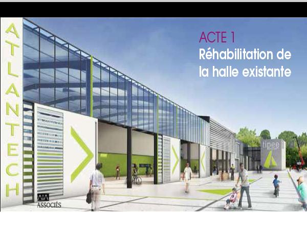 Terrains et bureaux dédiés au secteur éco-activités sur Atlantech® près de La Rochelle