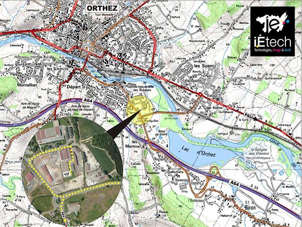 Bureaux individuels ou en espace partagé sur le pôle I-Etech à Pau