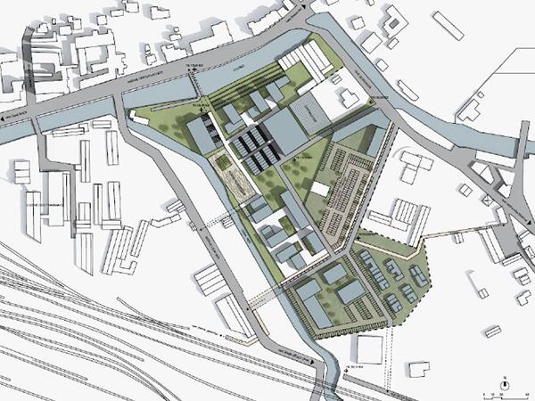 Terrain de 4 hectares dédié aux entreprises du secteur de la santé à Pau