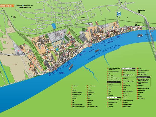 Terrains sur le port de Bordeaux - Terminal portuaire de Bassens